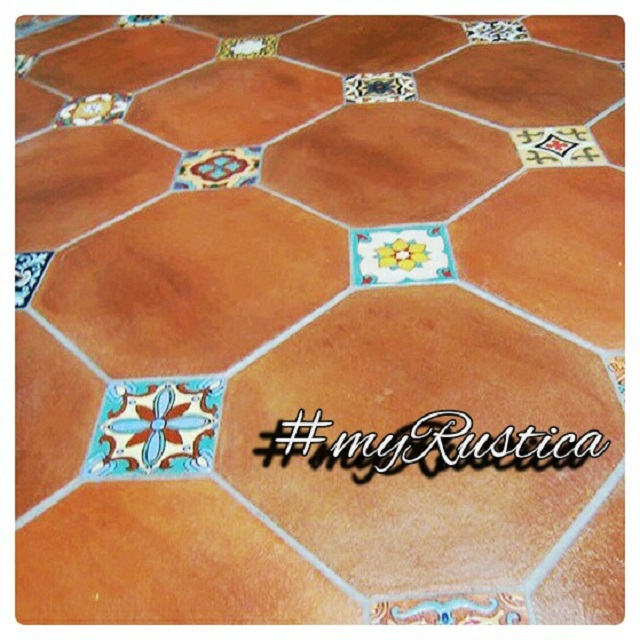 rustic floor tiles from mexico