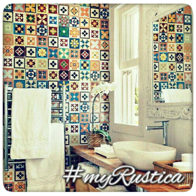 painted mexican tiles