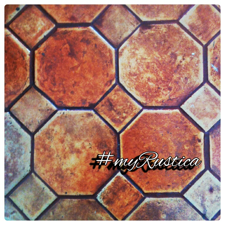 rustic mexican clay floor tiles