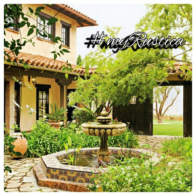 rustic home and garden stone decorations